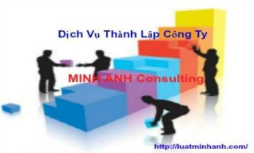 dịch vụ thành lập công ty