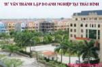 tư vấn thành lập doanh nghiệp tại Thái Bình