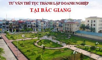 Tư vấn thủ tục thành lập doanh nghiệp tại Bắc Giang